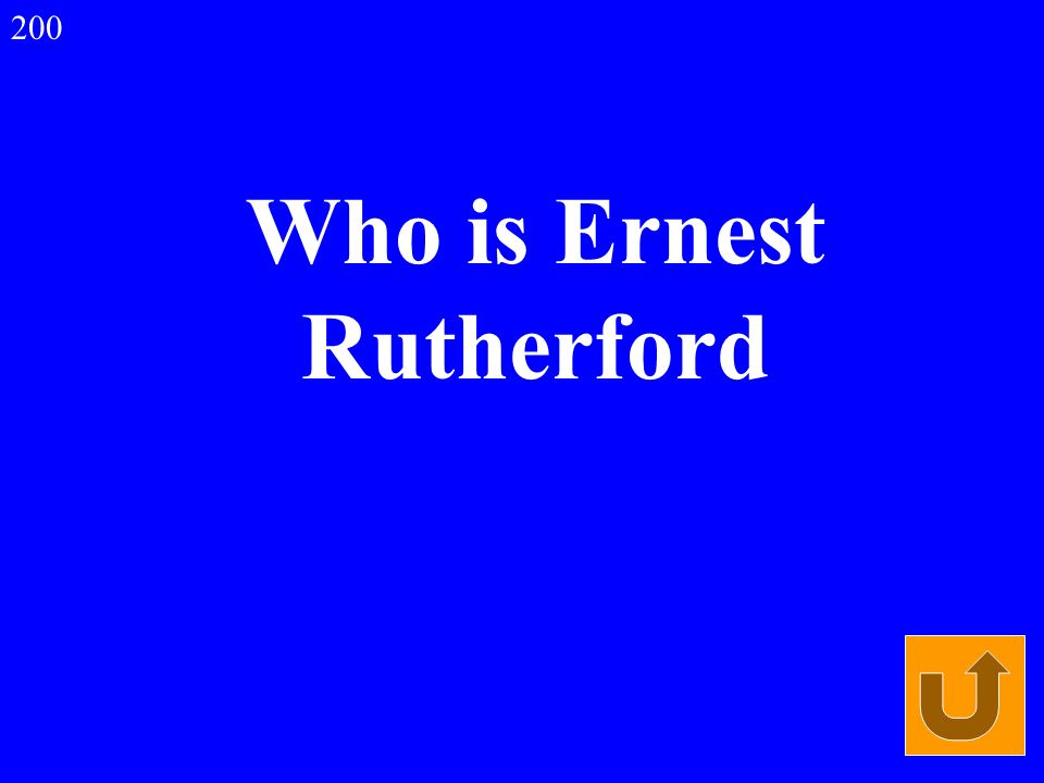 Who is Ernest Rutherford 200