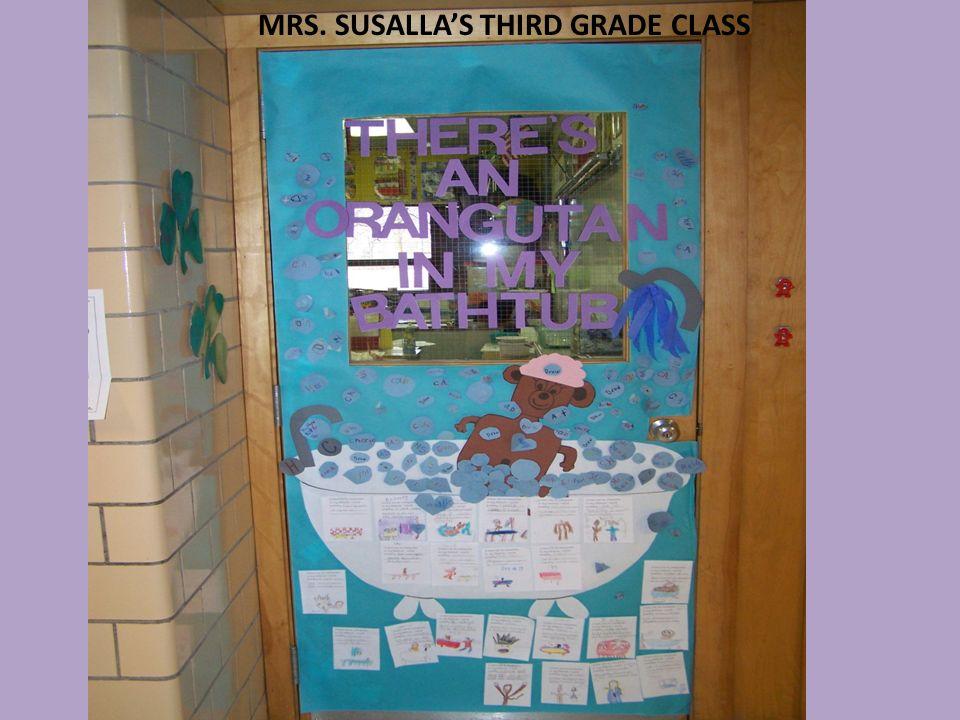 MRS. SUSALLAS THIRD GRADE CLASS