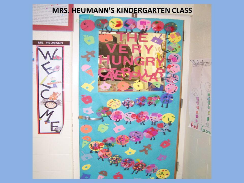 MRS. HEUMANNS KINDERGARTEN CLASS