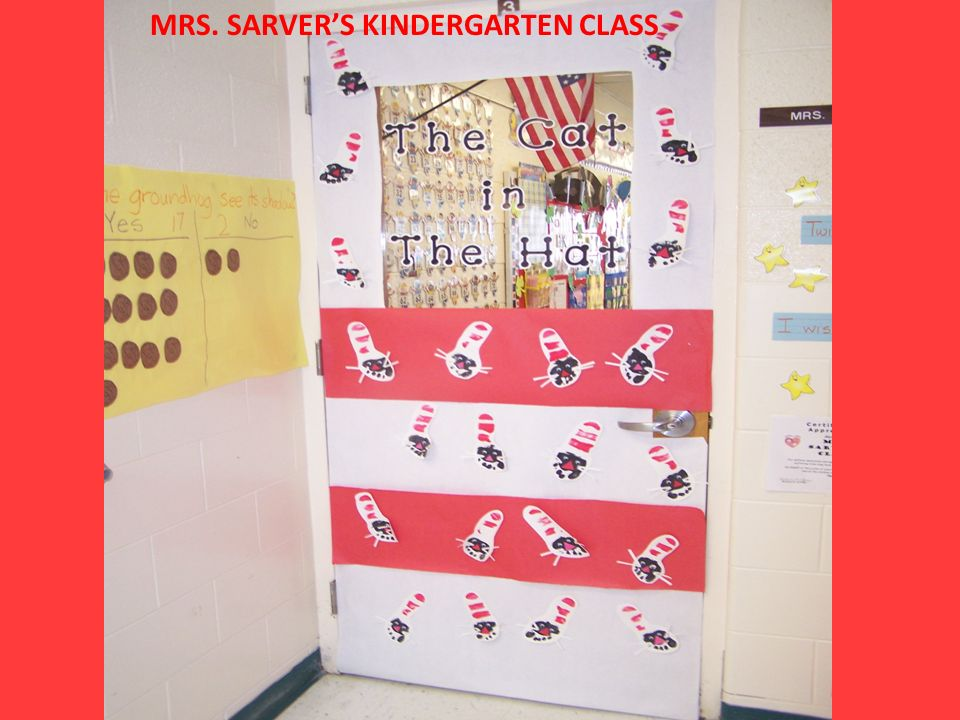 MRS. SARVERS KINDERGARTEN CLASS