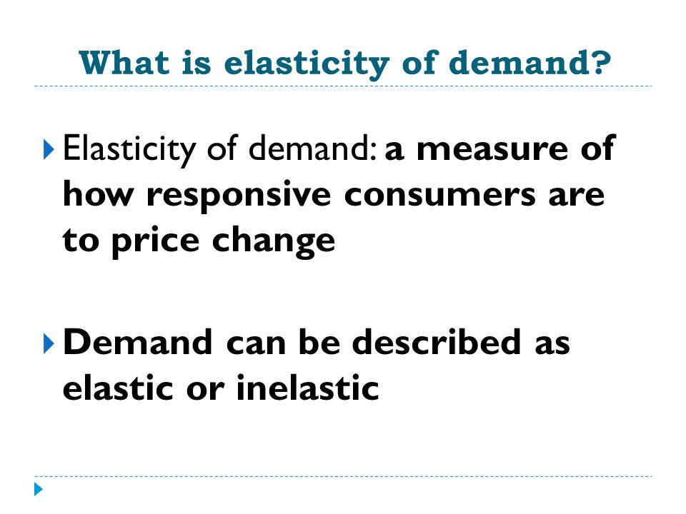 What Determines Elasticity.1.
