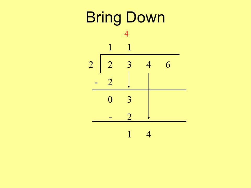 Bring Down 11 22346 -2 03 -2 14 4