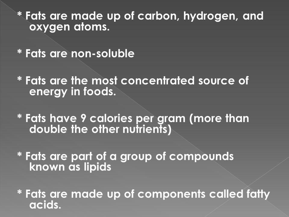A type of fatty acid created during processing.
