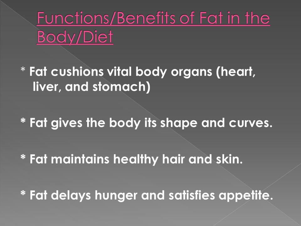 Excess weight gain Heart disease (heart attack, high blood pressure) Extra stress on your joints (hip, knee replacements common in middle age) Diabetes (Type 2)