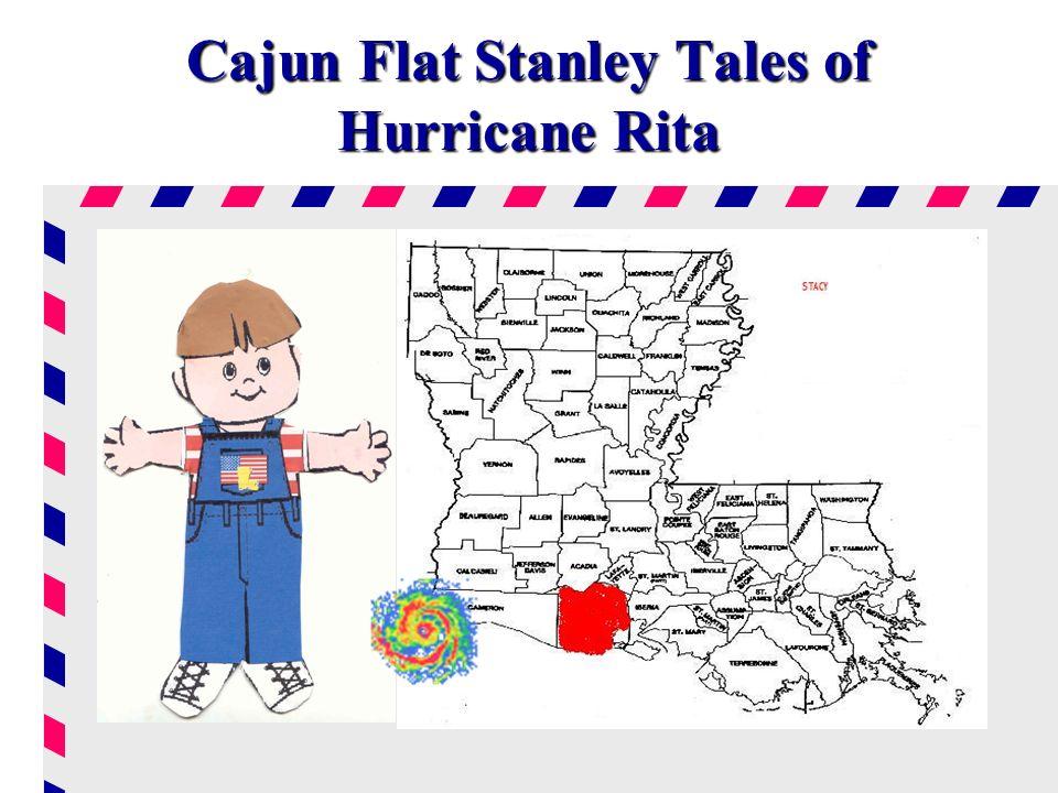Cajun Flat Stanley Tales of Hurricane Rita