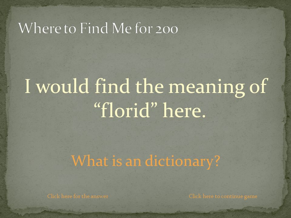 I would find the meaning of florid here. What is an dictionary.