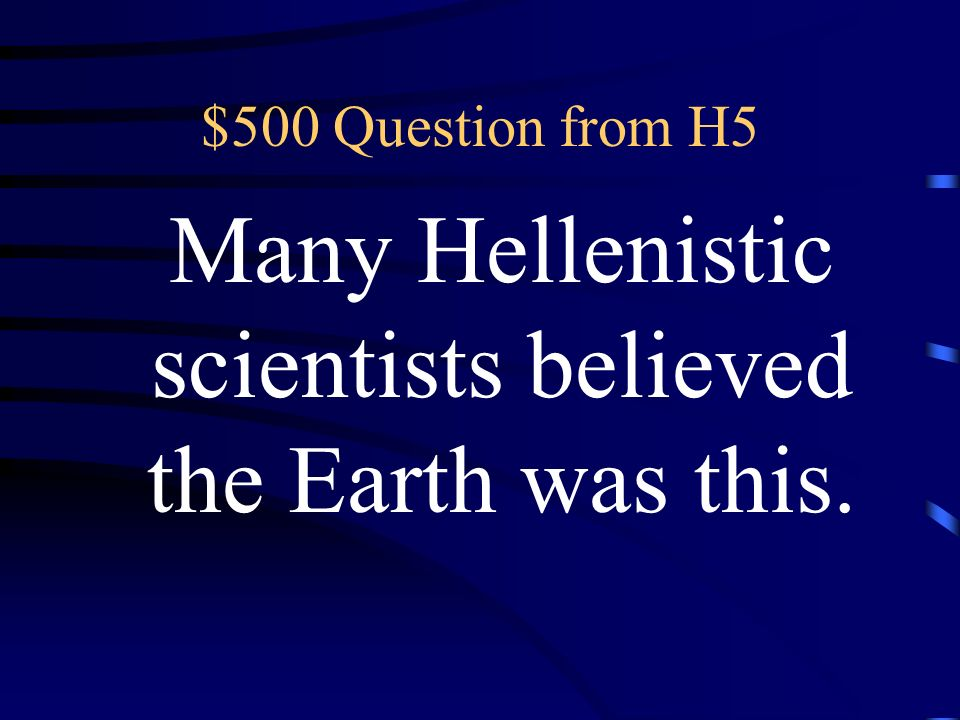 $400 Answer from H5 What is energy
