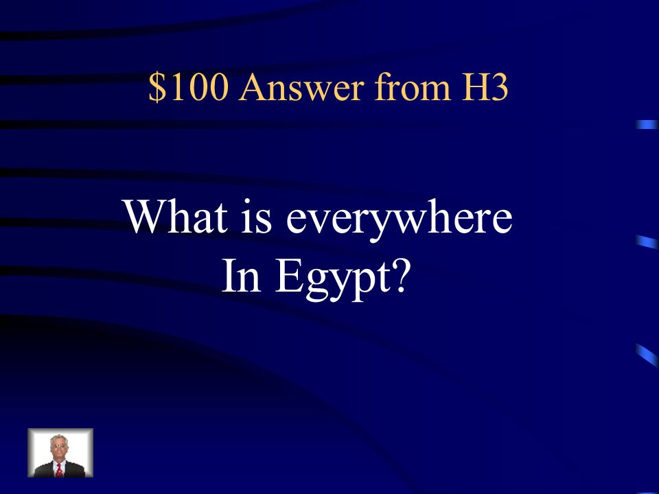 $100 Question from H3 The falcon god Horus was worshipped here.