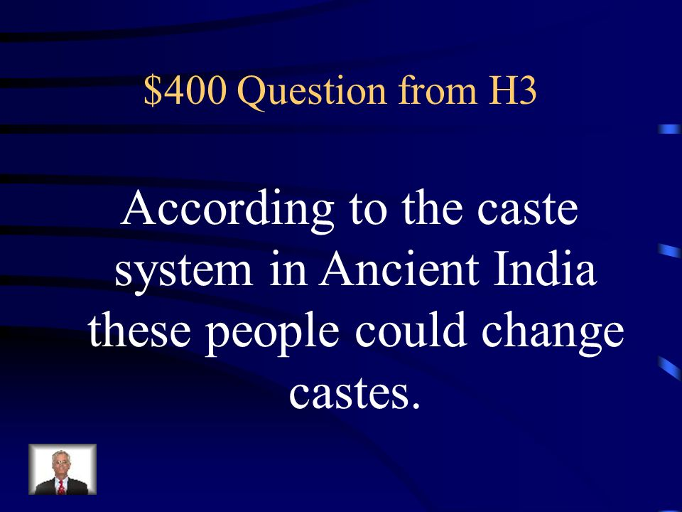 $300 Answer from H3 What are chariots