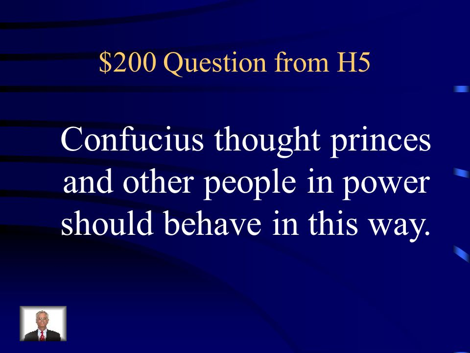 $100 Answer from H5 What are rivers