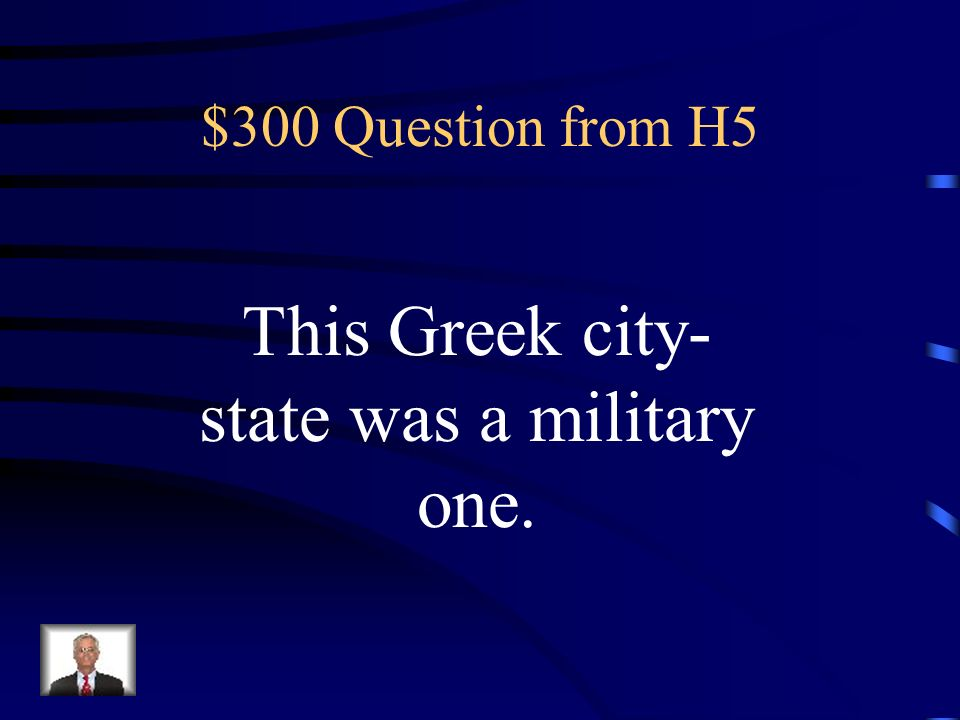 $200 Answer from H5 What is set good examples for his people to follow