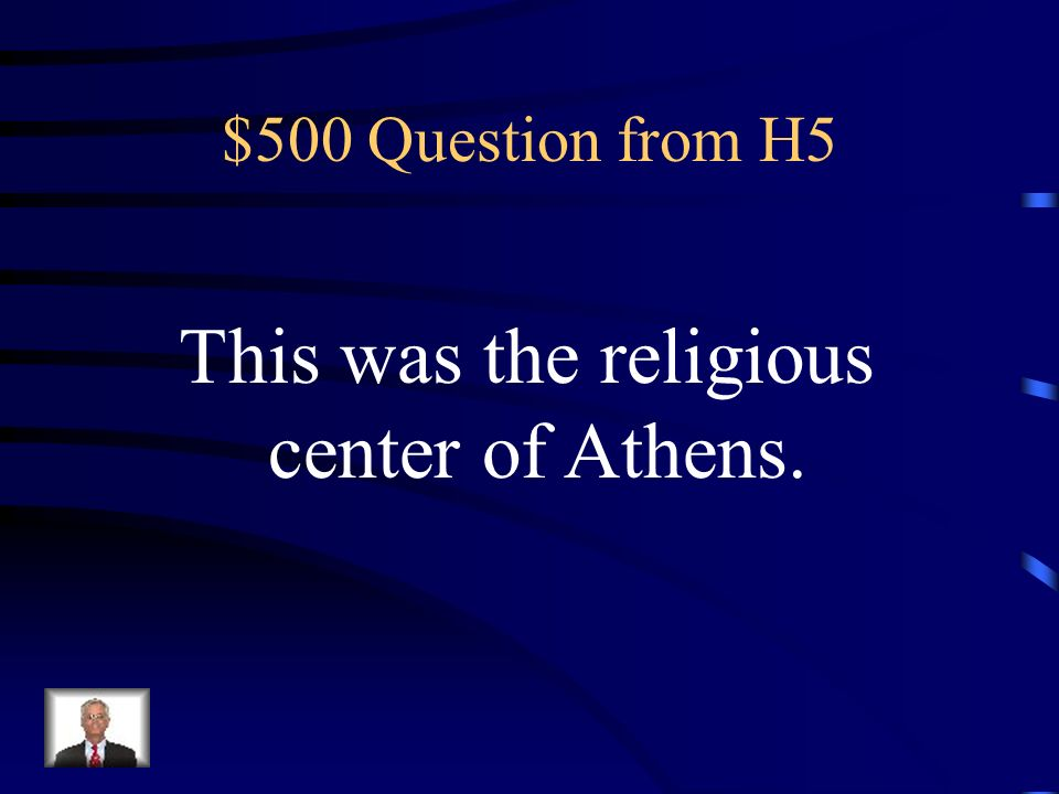 $400 Answer from H5 Who were Christians