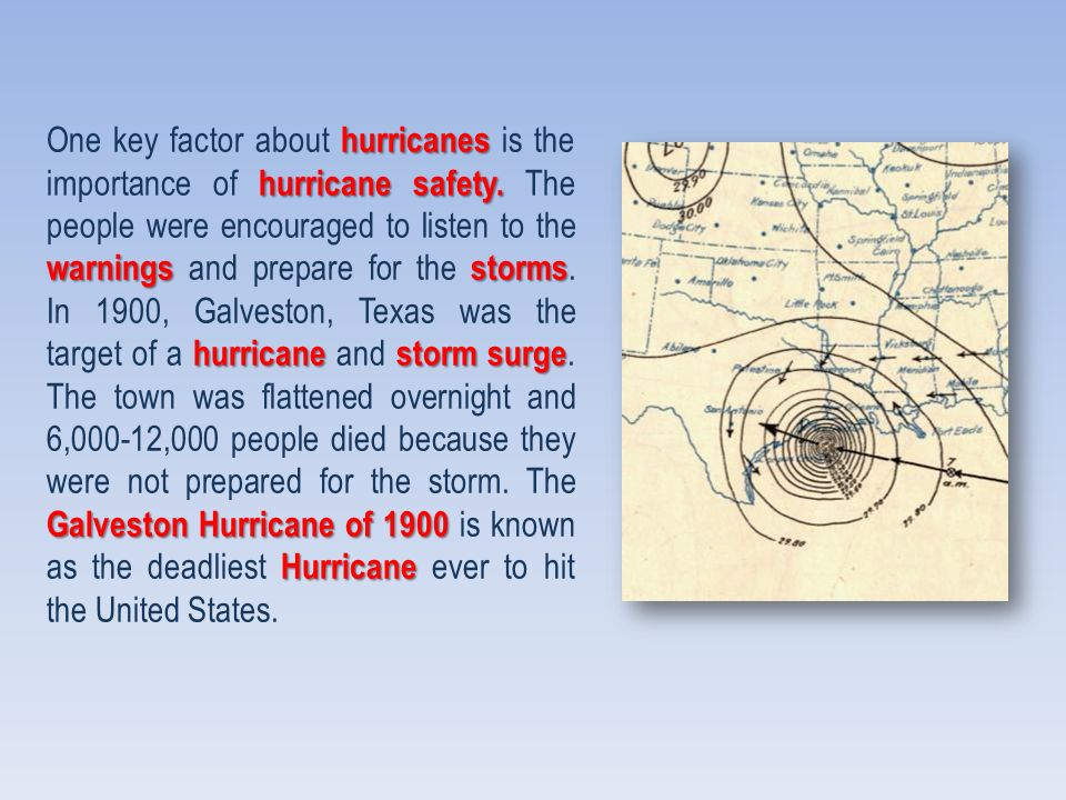One key factor about h hh hurricanes is the importance of h hh hurricane safety.