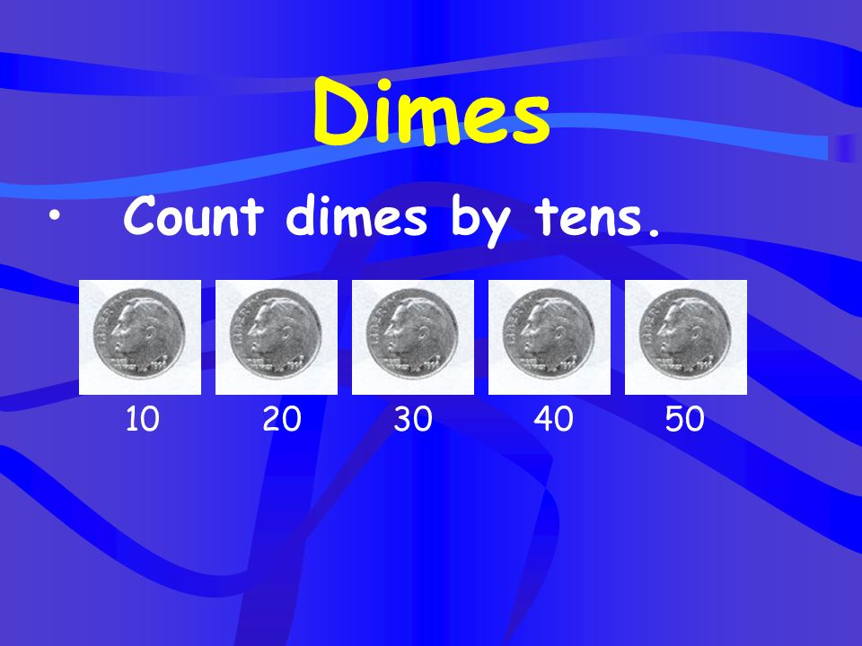 Five nickels are equal to a quarter =
