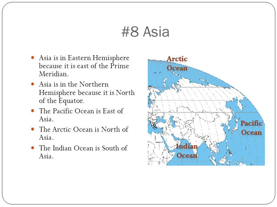 Eastern Hemisphere Globe is in Eastern Hemisphere