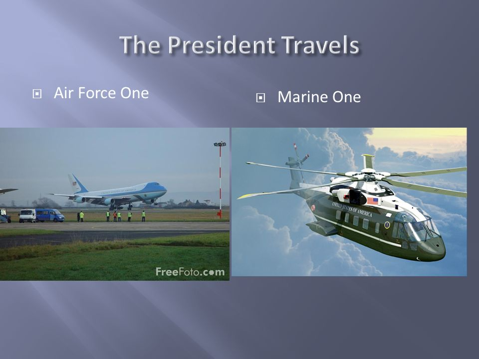 Air Force One Marine One