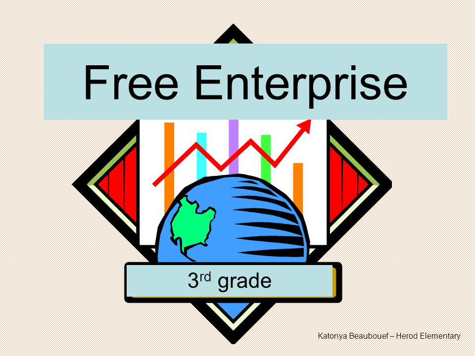 Free Enterprise 3 rd grade Katonya Beaubouef – Herod Elementary