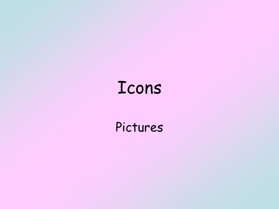 Icons Pictures