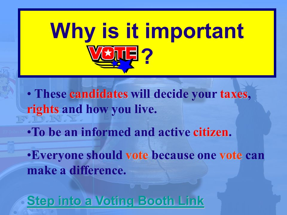 candidatestaxes rights These candidates will decide your taxes, rights and how you live.