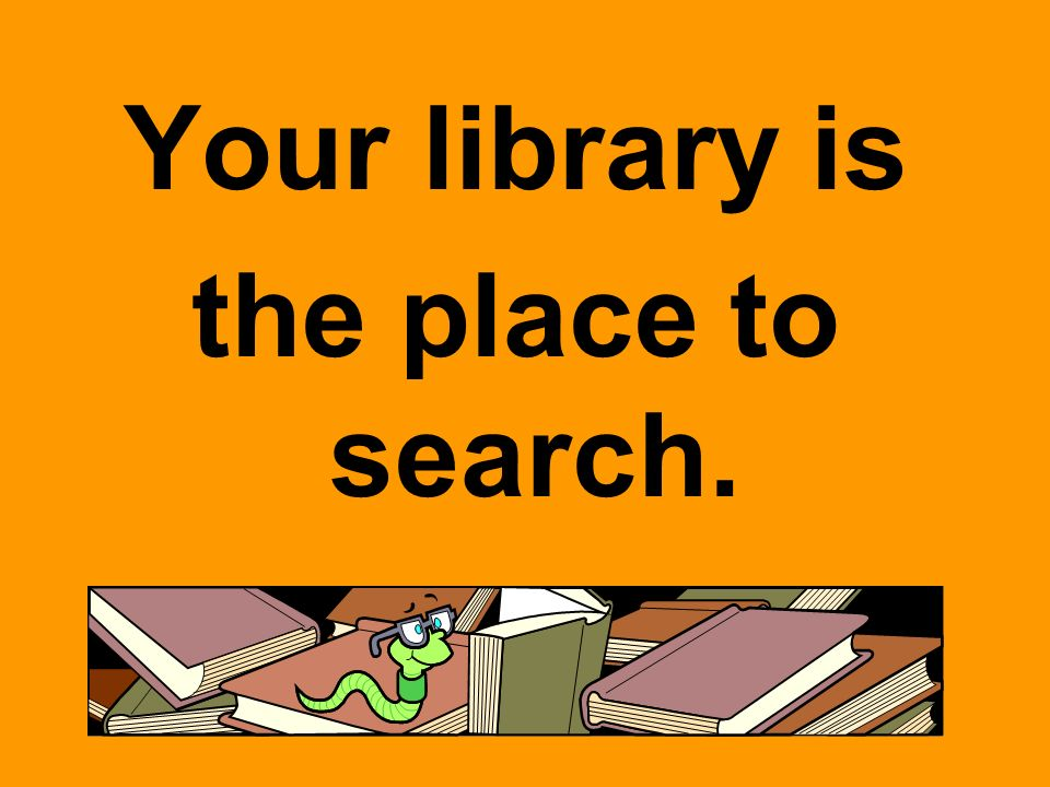 Your Library Offers Print Resources Online Resources