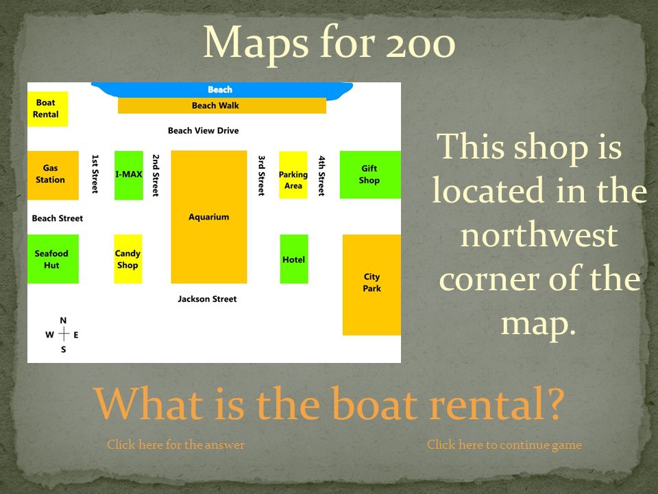 What is the boat rental.