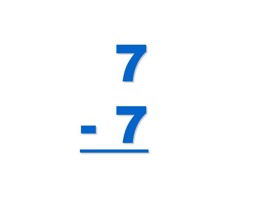 7 - 7