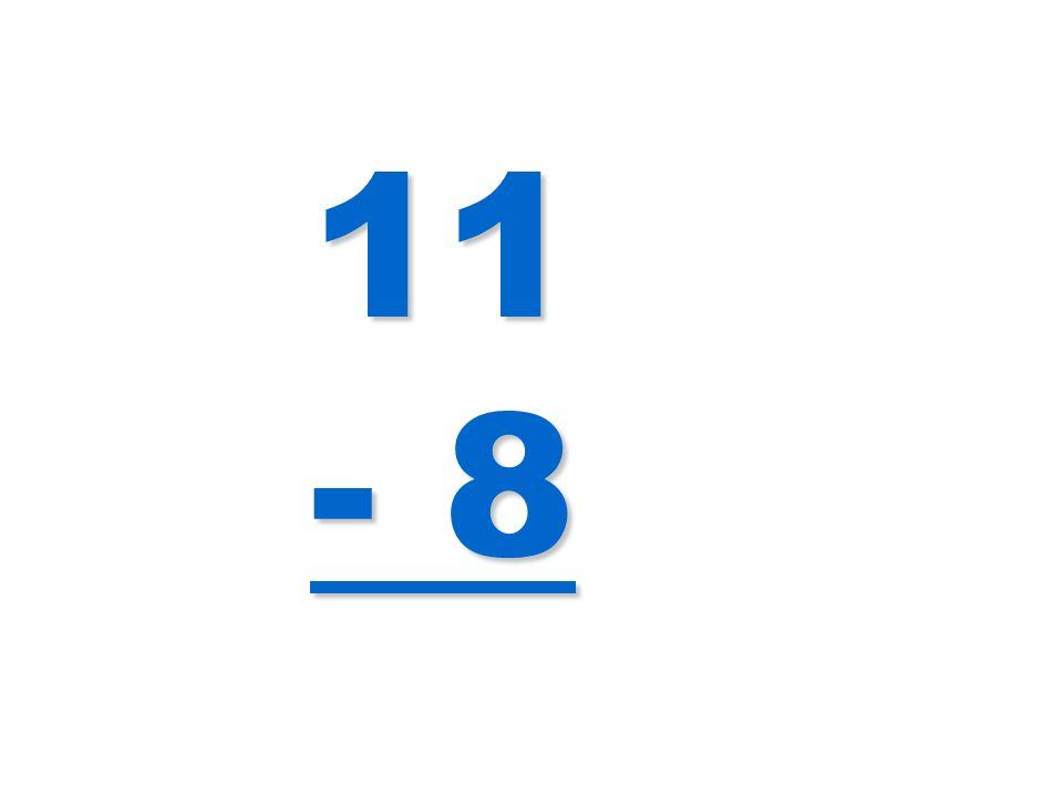 11 - 8