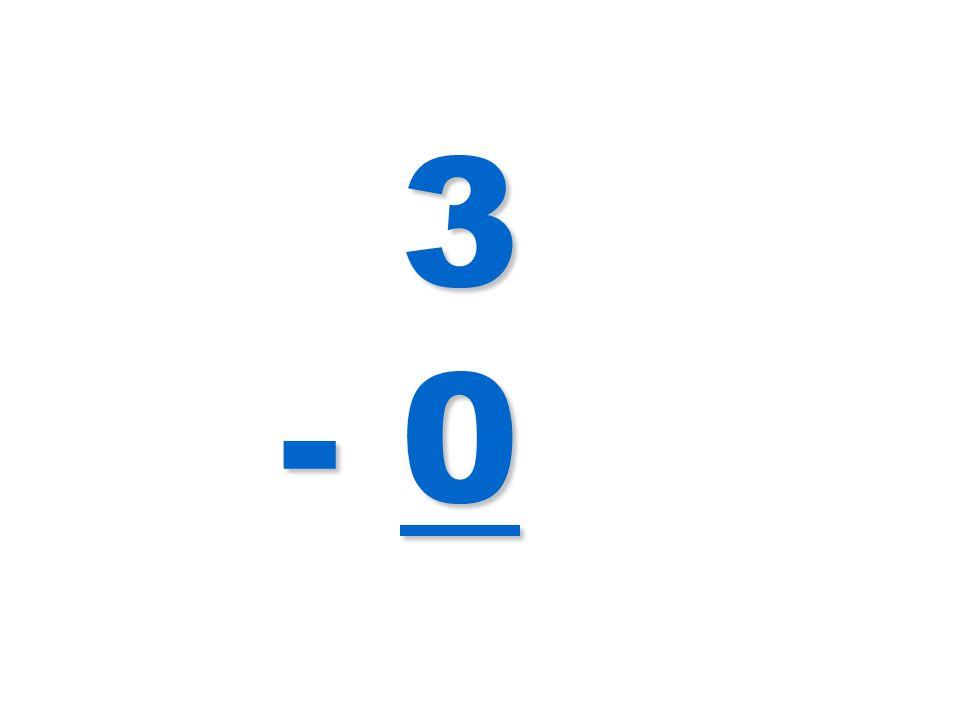 3 - 0