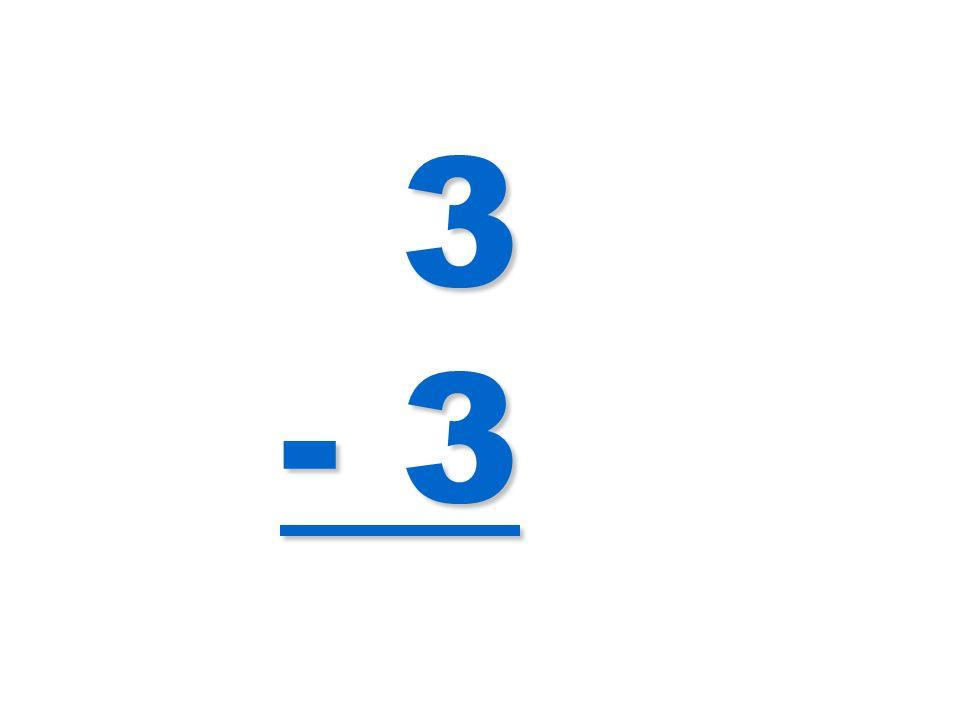 3 - 3