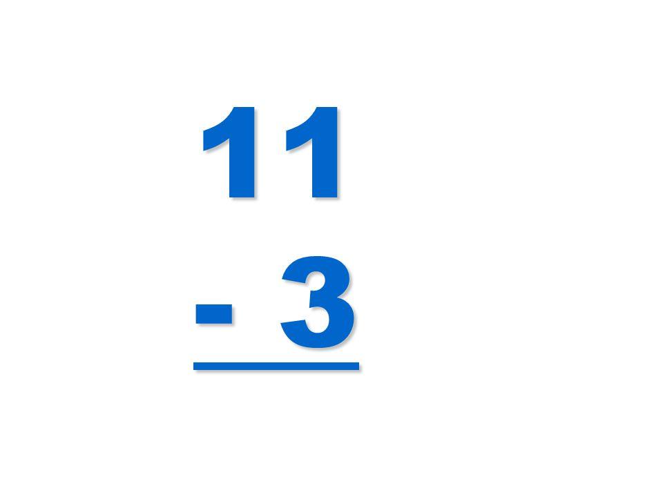 11 - 3