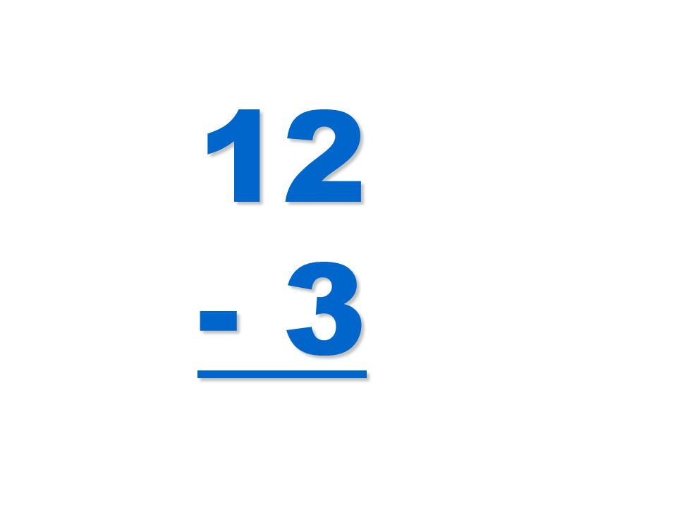 12 - 3