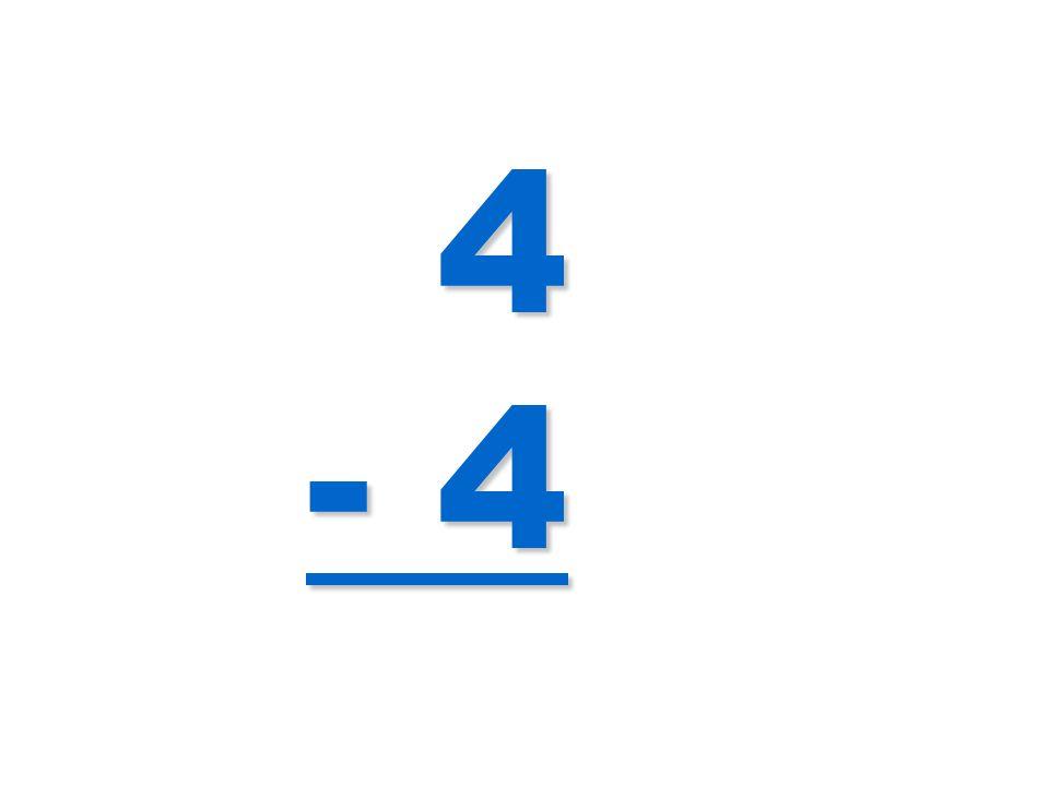 4 - 4