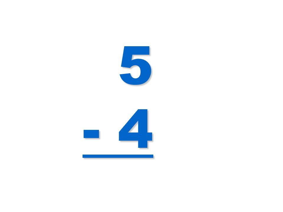 5 - 4