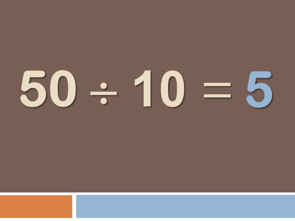50 10 = 5