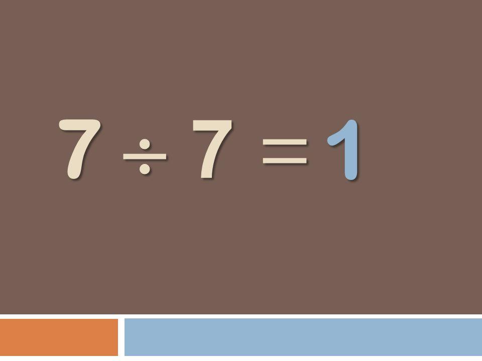 7 7 = 1