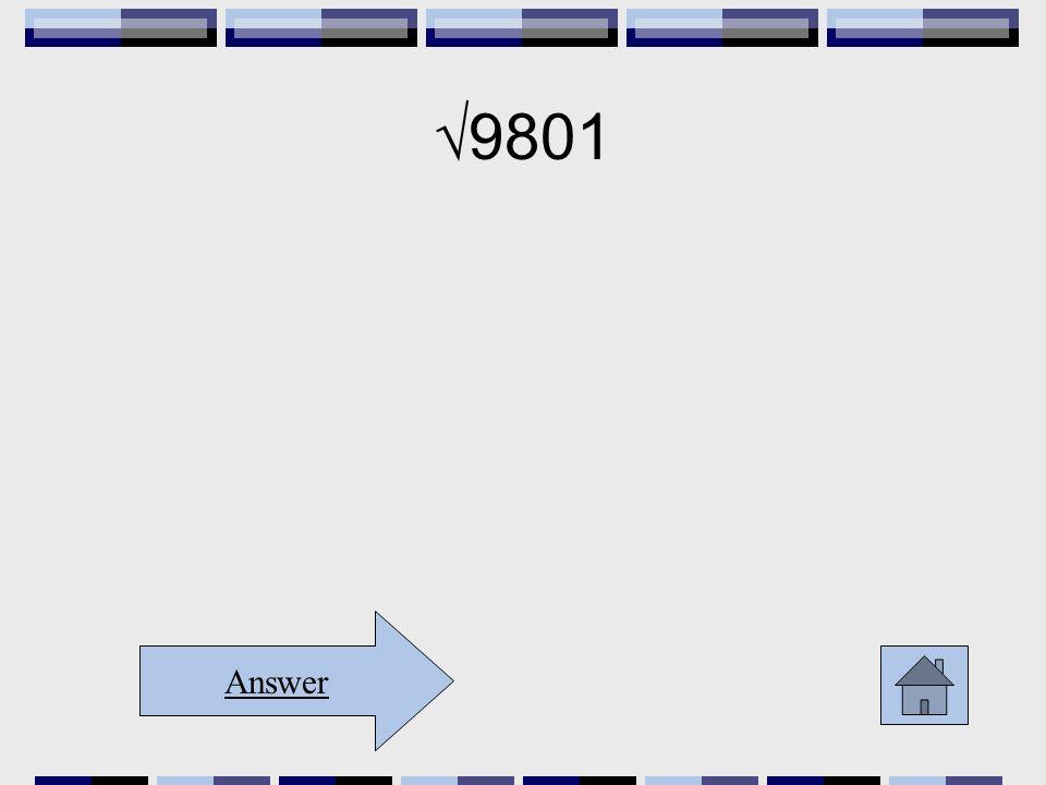 9801 Answer