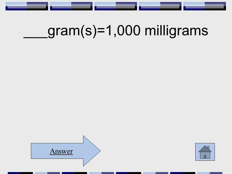 ___gram(s)=1,000 milligrams Answer