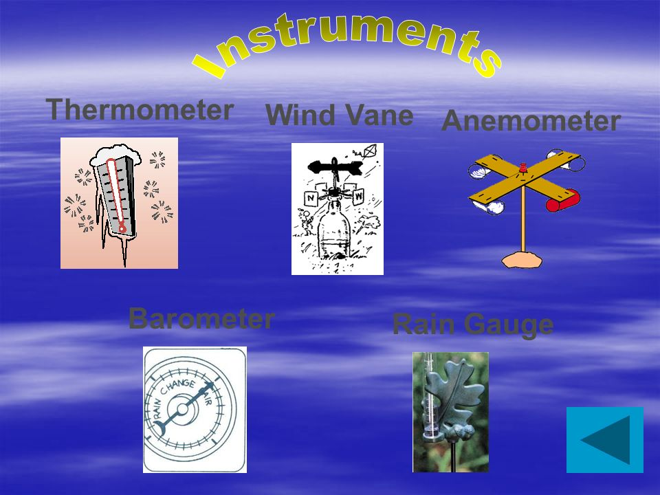 Has expanded our ability to study the weather. Internet Instruments