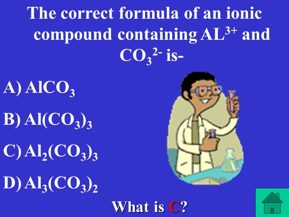 What is C? Which of these is the general formula for a double-replacement reaction? A) A+BAB B) AB+XYBA+YX C) AB+XYAY+XB D) A+B+XYAX+BY