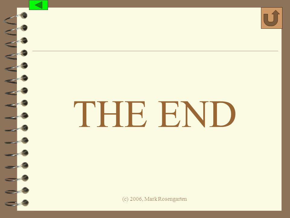 (c) 2006, Mark Rosengarten THE END