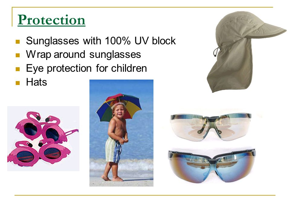 Protection Sunglasses with 100% UV block Wrap around sunglasses Eye protection for children Hats