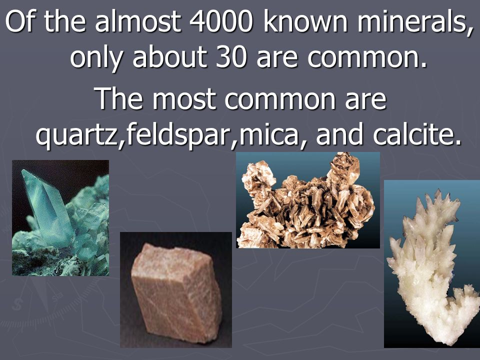 5. A mineral is inorganic (was never alive)
