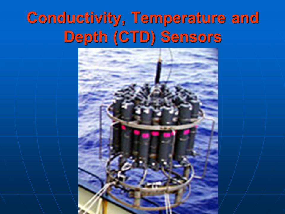 Conductivity, Temperature and Depth (CTD) Sensors