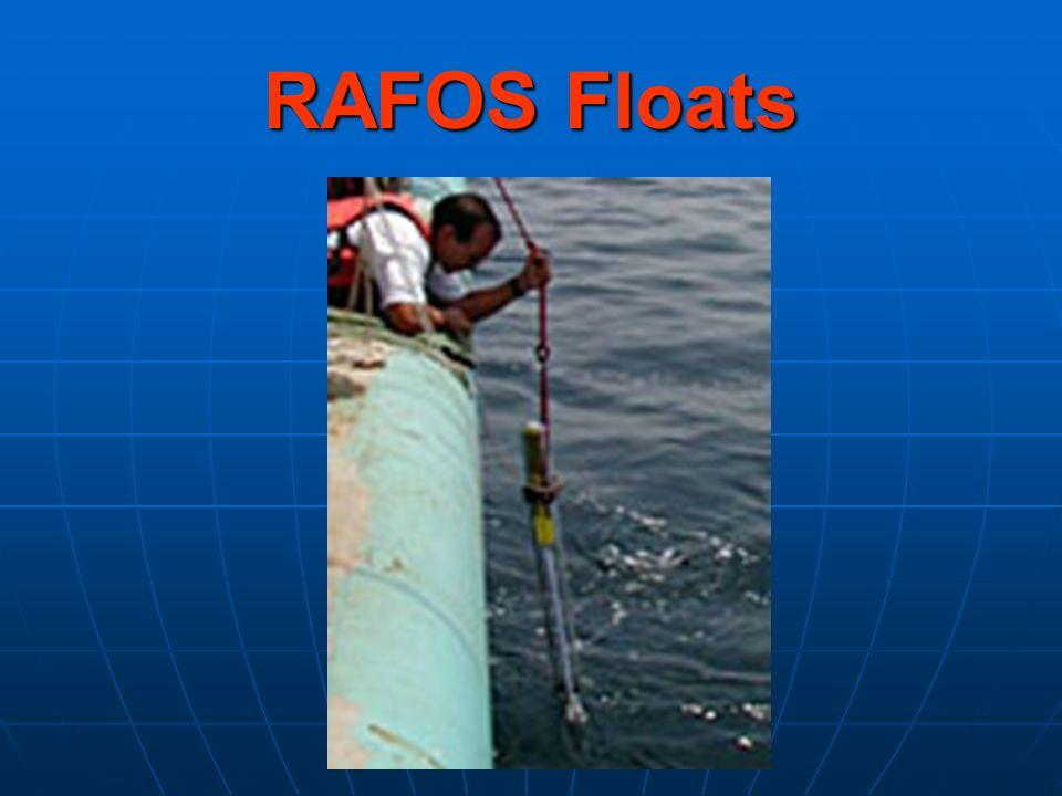 RAFOS Floats