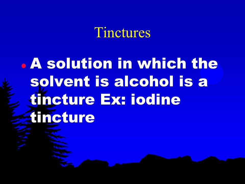 Aqueous solution l Solutions in which the solvent is water are aqueous solutions (most common)