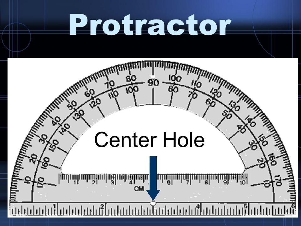 Protractor Straight Edge