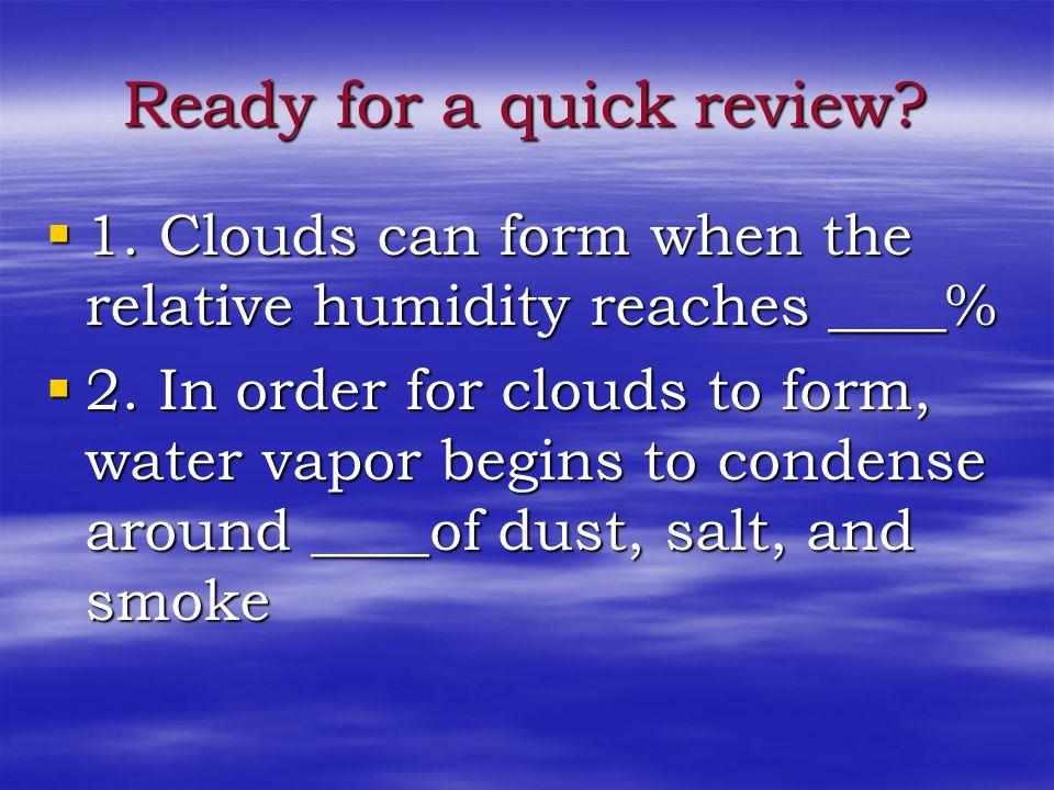 Rain Clouds When a nimbus cloud is also a towering cumulus cloud, its called a cumulonimbus cloud When a nimbus cloud is also a towering cumulus cloud