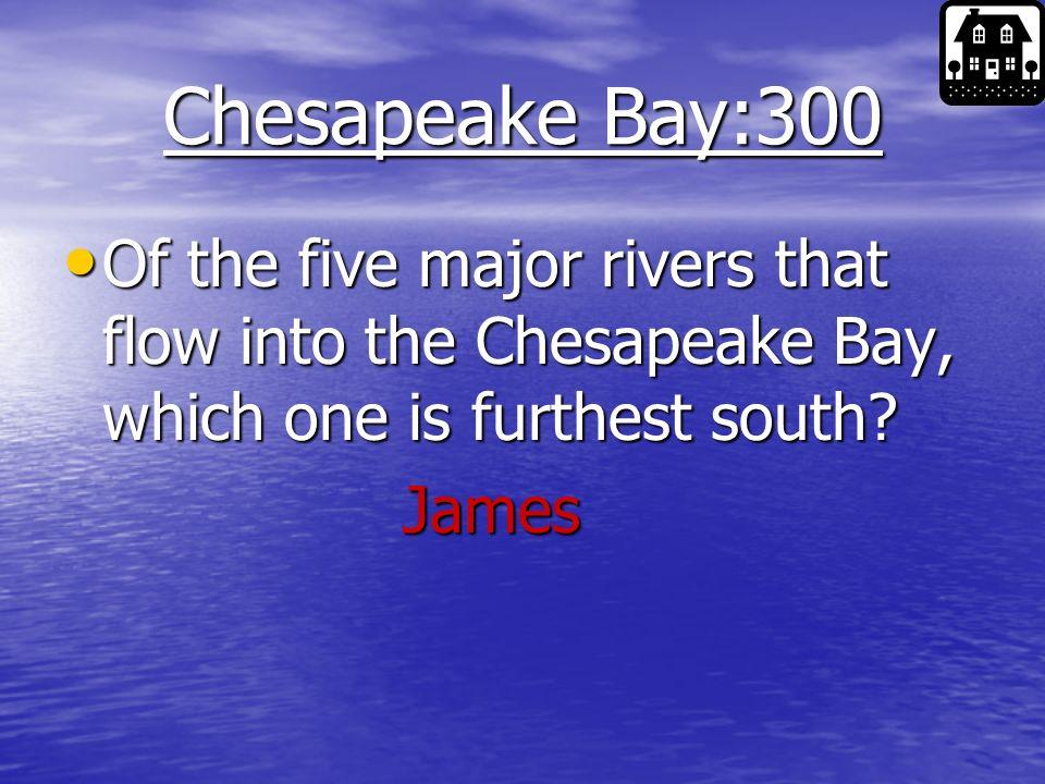 Chesapeake Bay:300