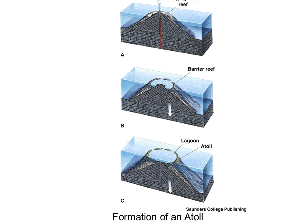 Formation of an Atoll