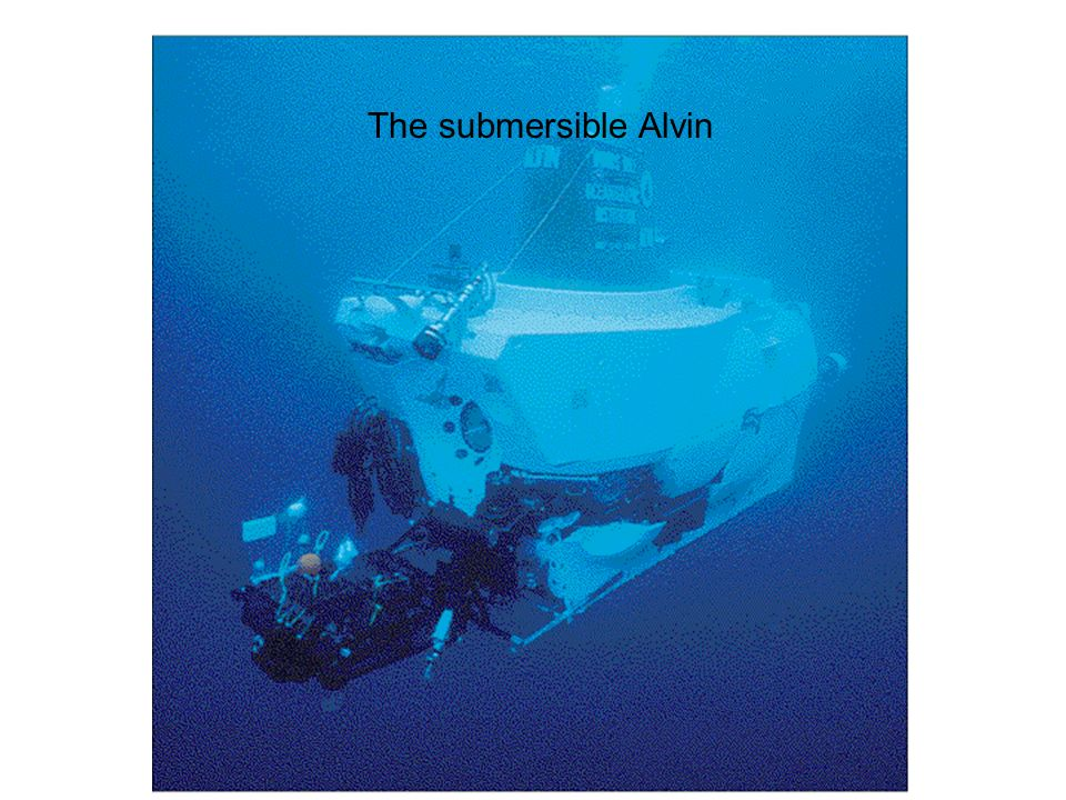 The submersible Alvin